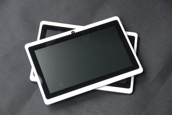 top popular DHL freeshiping dual core 7 inch Tablet PC with Capacitive Multi Touch Screen ,Support external 3G, 512MB 4GB 2019