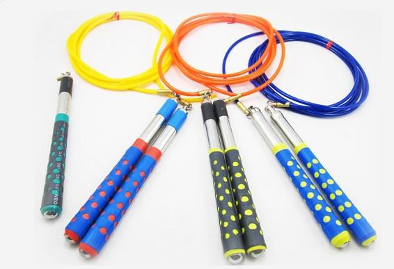 Skipping Rope Steel Wire Ball Bearing Jump Ropes Fitness Training For Kids Adult