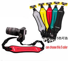 Camera Shoulder Strap Canada - Quick-Release Single Neck shoulder shoulder strap belt sling strap for DSLR SLR Camera