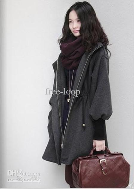 new arrivals uk availability online store Womens Coats Plus Size Clothing Casual Wool Coat Hoodies Outerwear Winter  Woollen Coats 9682 Canada 2019 From Free Loop, CAD $43.80 | DHgate Canada