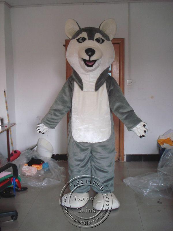 siberian husky sledge dog animal mascot costumes halloween costume cartoon suit fancy dress outfit cat costume unique halloween costumes from mascot_china