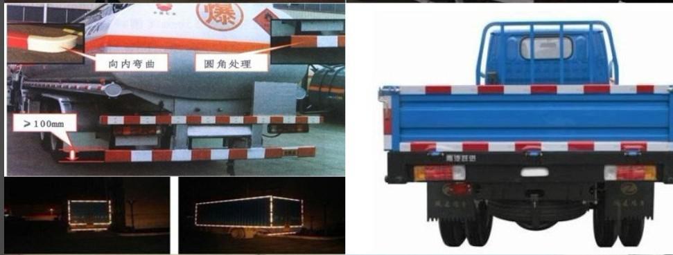 50M / 롤 싸구려 도매 5000 * 5cm 반사 접착 성 위험 경고 테이프 화이트 / 레드 중국