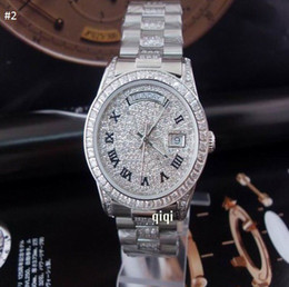 Wholesale Diamond Julius - More Diamond date High quality Wristwatche Wholesale men watch Luxury sports Brand new Automatic Stainless steel Men's Watches