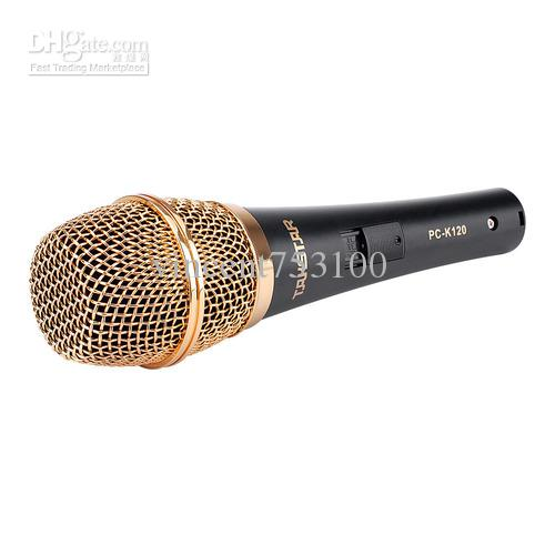Hot selling Takstar PC-K120 Professional Microphones for Recording KTV On-sage performan PK