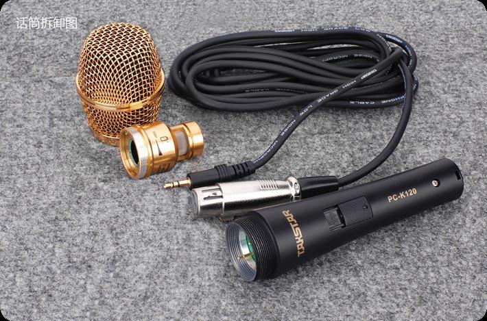 Venta caliente Takstar PC-K120 Micrófonos profesionales para grabar KTV On-sage performan PK envío gratis