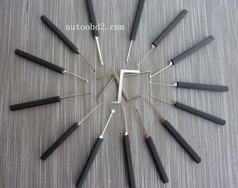 Dimple 14 Pin Lock Choisissez l'outil de sélection de verrouillage, outil de serrurier