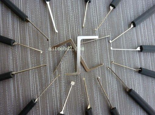 딤플 14 핀 잠금 피킹 도구 선택 도구, 자물쇠 도구