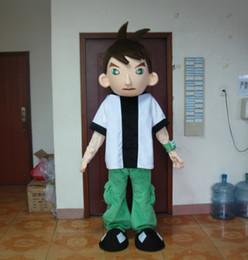 Wholesale Good Cartoon People - retail adult plush EVA ben ten cartoon mascot costumes fancy costumes free shipping good quality
