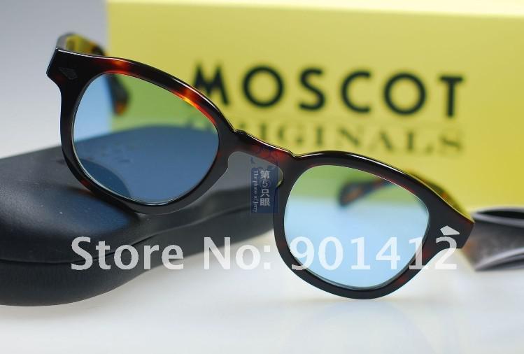 Lemtosh Tortoise Sunglass Blue Lens Johnny Depp With