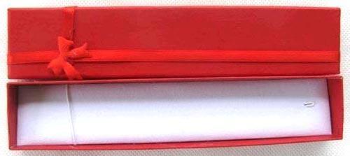 Novo 48 pcs Moda Multi Cor Longo Caixa De Jóias Colar ou Pulseira Caixas De Presente 20x4 cm