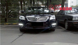 Wholesale Led Light Car Modified - 09-10-11 Toyota Camry car special modified daytime running lights LED running lights