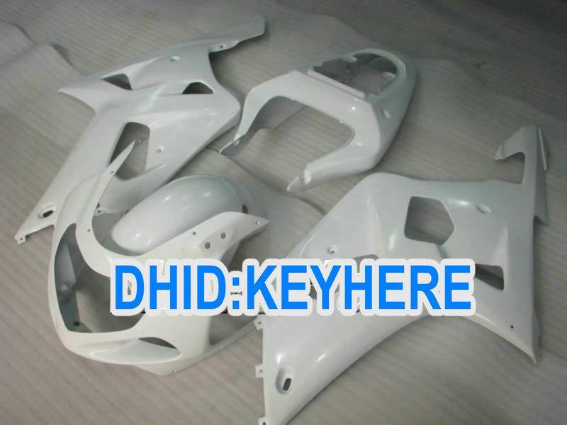 SNL01 Vit Racing Fairing Kit för Suzuki 2001 2002 2003 GSXR 600 750 GSX-R600 R750 01 02 03