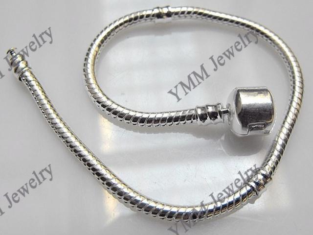 Venta al por mayor 925 pulseras plateadas de la plata esterlina Envío gratis pulseras de la cadena de serpiente