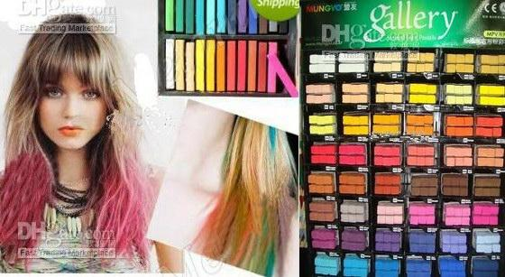 Hot Selling Hair Color Chalk Temporary Hair Color Chalk Bug Rub Soft ...