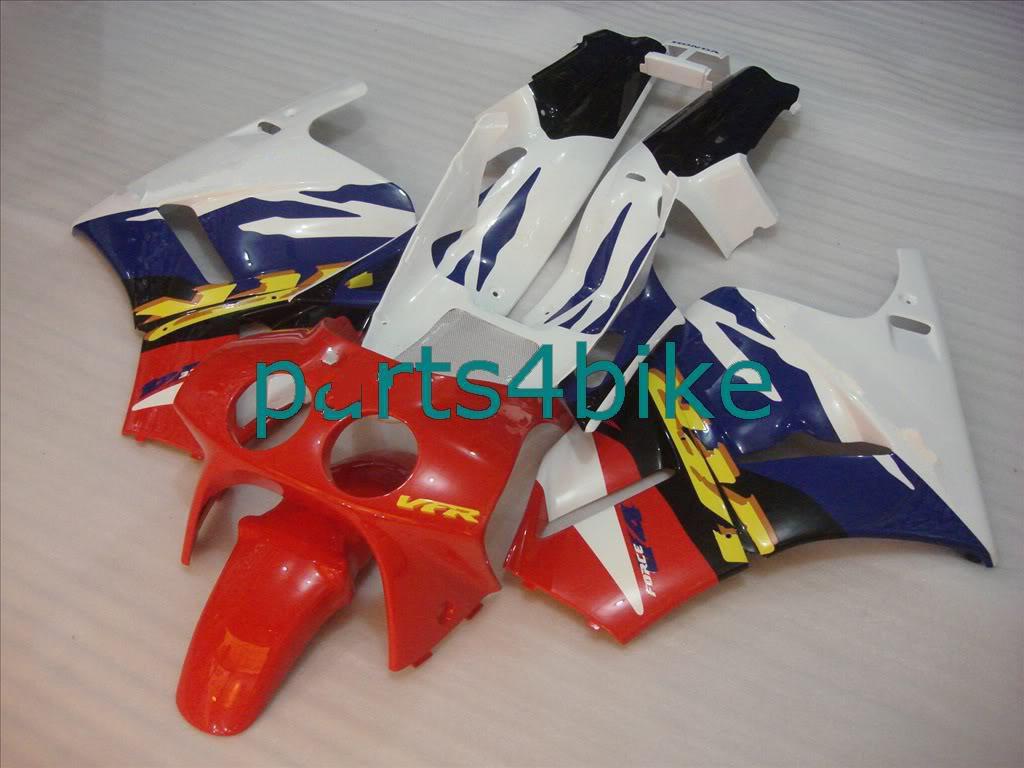 Kit de carenado de posventa apto para HONDA VFR400 NC30 VFR 400 NC 30 1989-1993 RVF 400RR MC30