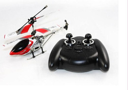 Wholesale Green Rc Mini - New Mini 8010A Remote Control LED 3CH RC Helicopter R C Helicopter RC Helicopter Green Christmas Gif