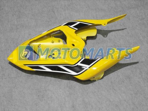 Alta qualidade amarelo corpo personalizado PARA YZF-R1 2007 2008 YZF R1 07 08 YZF-R1 YZF1000 carenagem kit pára-brisa