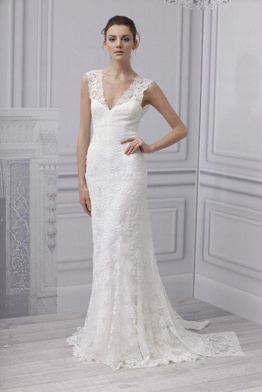 Cheap Por Y Deep V Neck Panel Train Backless Cap Sleeves Bridal Gowns Jim Hjelm Sheath Wedding Dress With
