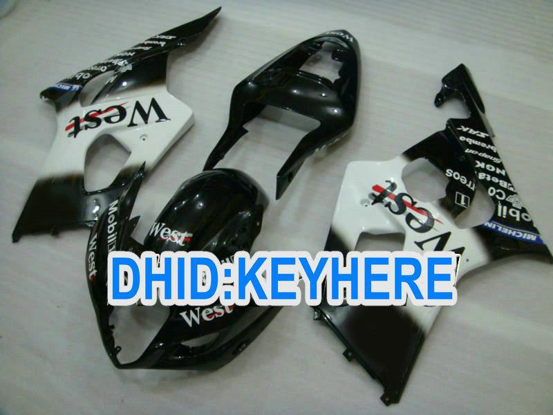 Kit de carenado racing SNL90 Black West para Suzuki GSX-R1000 2000 2001 2002 K1 GSX R1000 00 01 02