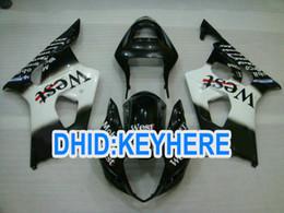 Wholesale West Fairings - SNL90 Black west ABS racing fairing kit for Suzuki GSX-R1000 2000 2001 2002 K1 GSX R1000 00 01 02