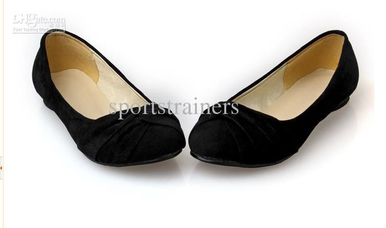 0615e761b921 2012 New Style Flats Ballet Shoes Ballerina Flats Dress Shoes Black Fashion  Women Flats Sparx Sandals Blue Shoes From Sportstrainers