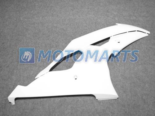 Vit Fairing Kit för Yamaha YZF R6 08 09 10 YZFR6 YZF-R6 600 2008 2009 2010 Vindruta