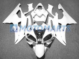 Windscreen For Yamaha R6 Canada - white fairing kit FOR Yamaha YZF R6 08 09 10 YZFR6 YZF-R6 600 2008 2009 2010 &windscreen