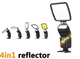 Venta al por mayor de Kit de difusor de reflector de flash Universal Pro Flash Difusor para unidad de flash Nikon de Canon