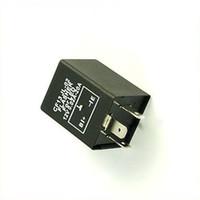Wholesale Electronic Flasher - Free Shipping LED 12V Electronic Relay Fix Flasher Blinker Indicator car