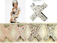 couleur porte-bébé achat en gros de-HOT Baby Carriers baby Slings Imprimé Carrier X-type 5 couleurs 20 pcs.