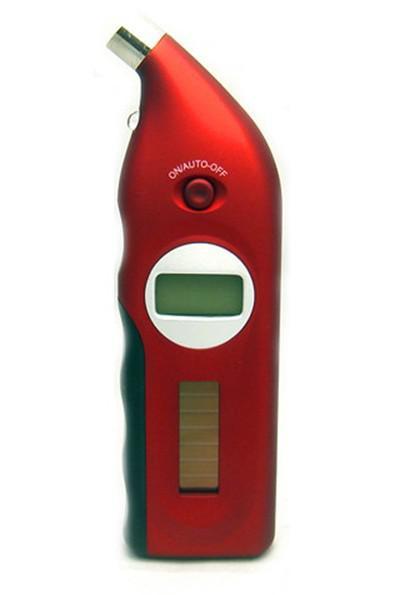 Nueva energía solar portátil Digital Auto Car LCD Medición de presión de aire Neumático Neumático Gaes