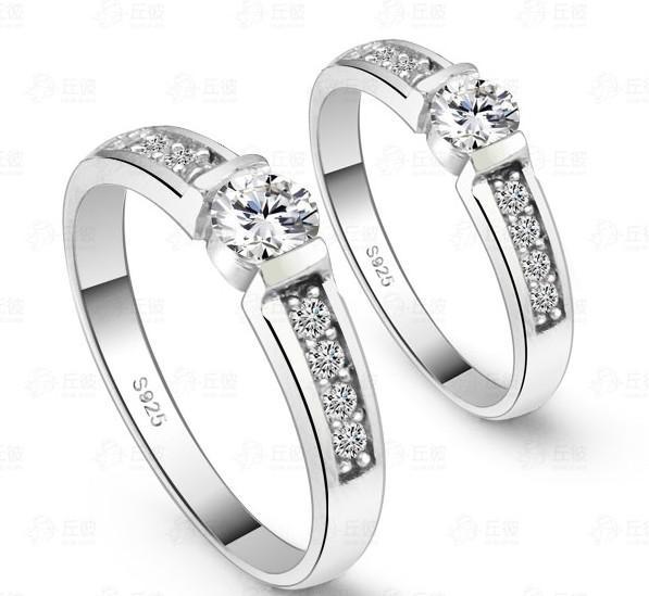 2018 2012 Fashion Swiss Diamond Rings Bridal Ring Engagement