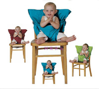 Wholesale Eat Chair Portable - Baby Eat chair Seat belt Portable Children dining chair belt 9 colors,20pcs lot,dandys