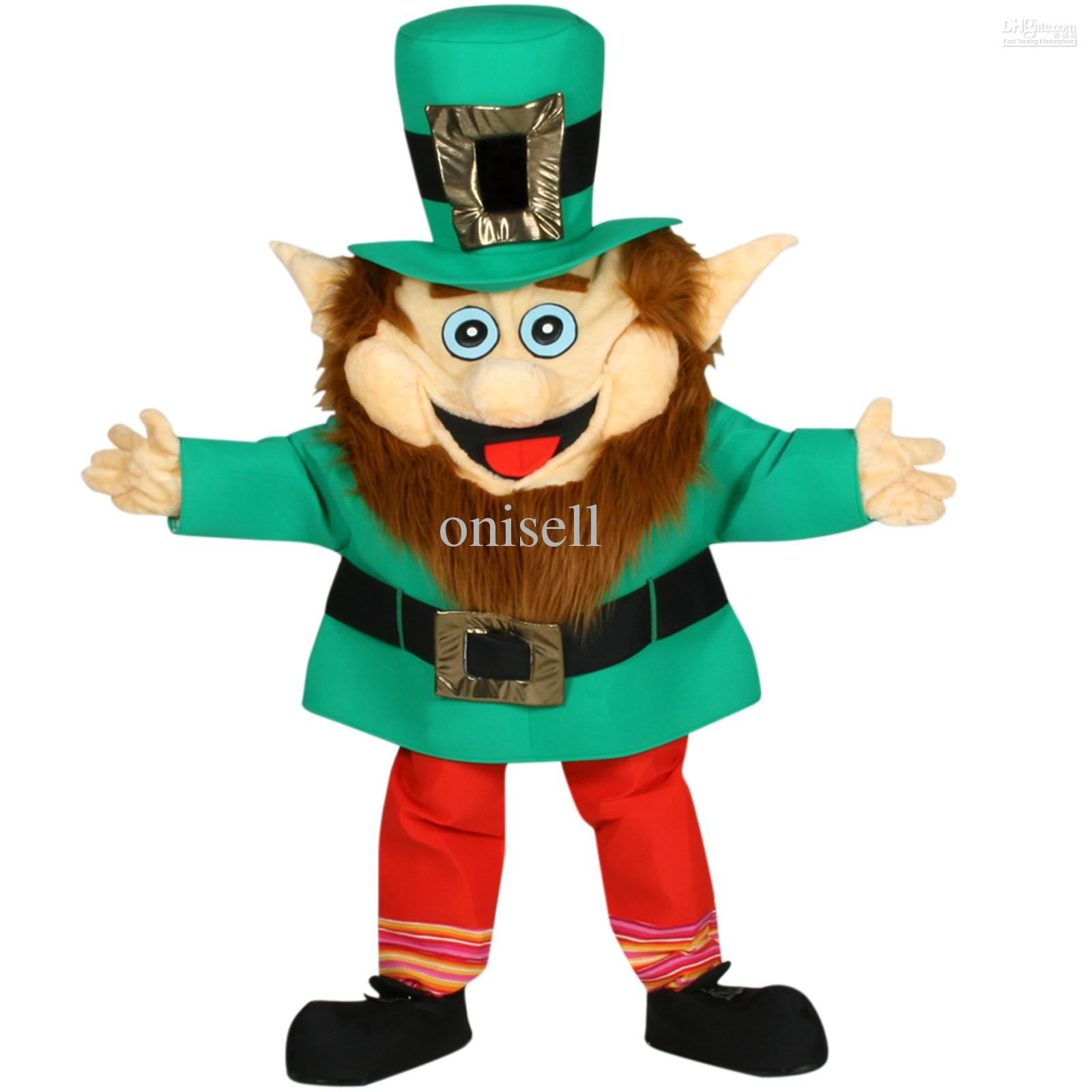 Larry The Leprechaun Mascot Adult Party Costume Cartoon Make A Mascot Head Cat Mascot Head From Onisell $149.24| Dhgate.Com  sc 1 st  DHgate.com & Larry The Leprechaun Mascot Adult Party Costume Cartoon Make A ...
