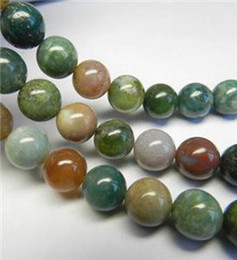 Wholesale Agate Loose 8mm - 4mm,6mm,8mm Natural India RARE Agate Gemstones Round Loose Beads 15inchAAA