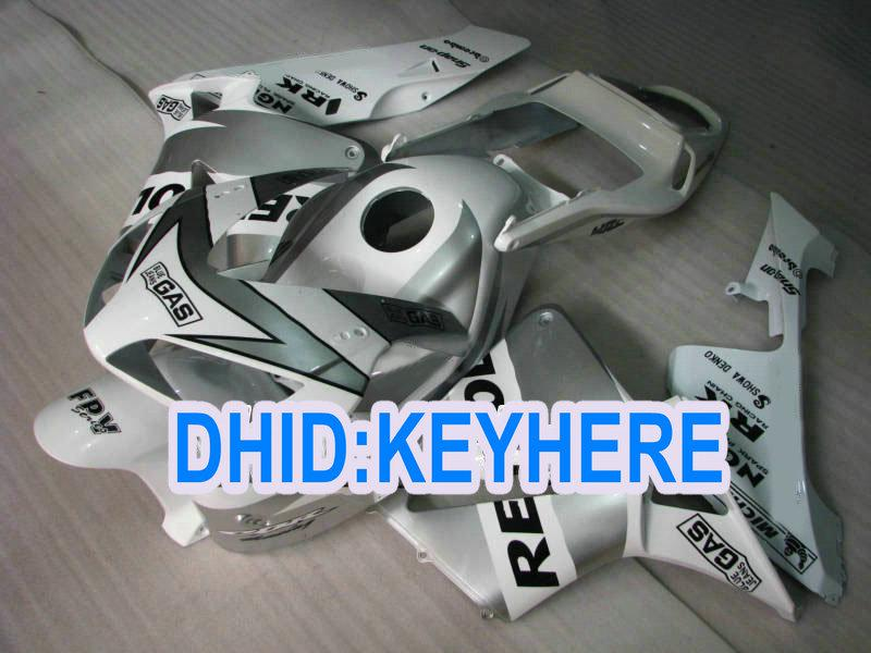 H17 Inyección blanca repsol aftermarket ABS Careing kit para Honda 2003 2004 CBR600RR 03 04 CBR 600RR