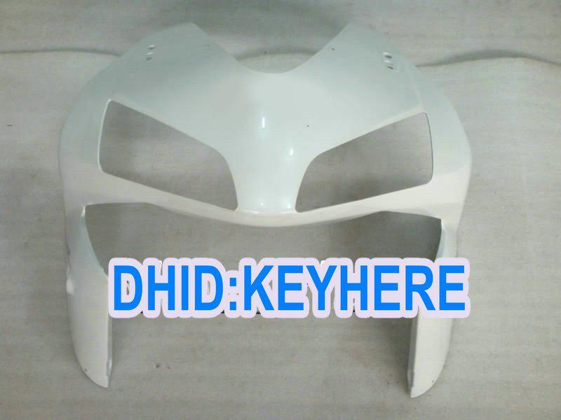 H18 Einspritzung alle weißen Aftermarket ABS Verkleidungskit für Honda 2003 2004 CBR600RR 03 04 CBR 600RR