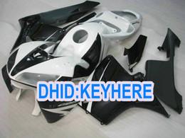$enCountryForm.capitalKeyWord NZ - H26 customize cheap Injection black white Fairing kit for Honda 2005 2006 CBR600RR 05 06 CBR 600RR