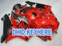 Wholesale Cheap Cbr Fairings - H33 Cheap Injection red black ABS Fairing kit for Honda CBR600RR 2005 2006 CBR 600RR 05 06 2 gifts