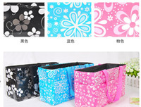 Wholesale Mummy Baby Carrier - Baby Diaper Nappy Bag Bottle Holder Mummy Set Handbag Carrier Storage bag Organizer pouch