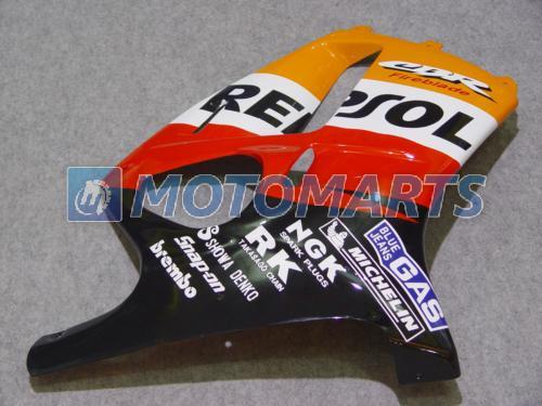 Corpo REPSOL PARA Honda CBR250RR MC19 1987 1989 CBR 250 RR 87 88 89 CBR250 carenagem kit windscreen