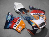 Wholesale Nsr Fairing - Bundle For Honda NSR250R MC21 PGM3 90 91 92 93 NSR 250R MC 21 repsol Body Kit Fairing & Windscreen
