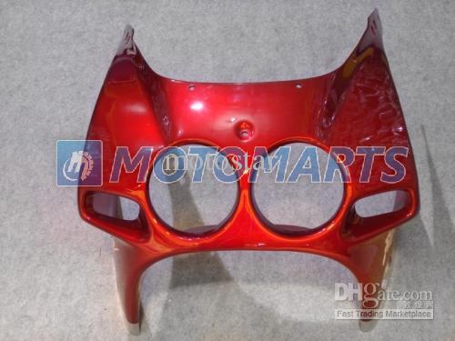 kit carenatura rosso / sil Honda CBR250RR MC22 1990-1994 CBR 250RR CBR250 90 91 92 93 94 parabrezza