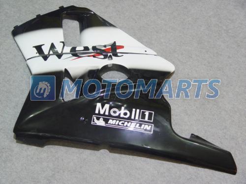 West Body Fairing Kit voor HONDA CBR400RR MC23 88 89 90 CBR 400 RR NC23 1988 1989 1990