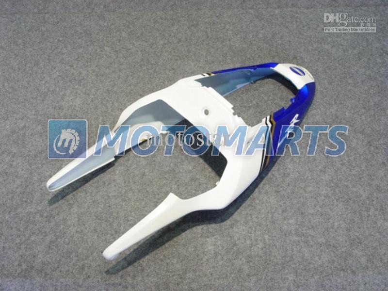 Gratis Anpassa Vit Blå Kroppsarbete för Honda CBR900RR 954 2002 2003 CBR 954RR CBR954 RR CBR900 CBR954RR Fairing Kit RX1