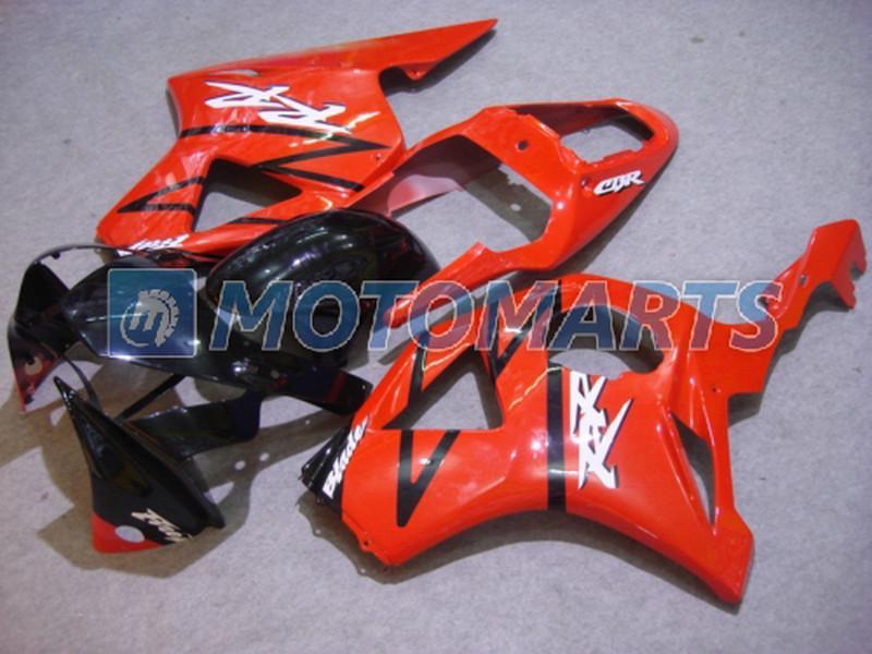 Honda CBR900RR 954 용 고품질 검정색 차체 페어링 2002 2003 CBR 954RR CBR954 RR CBR900 CBR954RR 페어링 키트