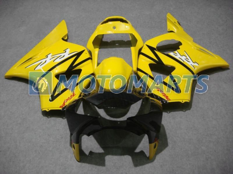 Mode gul kropp för Honda CBR900RR 954 2002 2003 CBR 954RR CBR954 RR CBR900 CBR954RR Fairing Kit
