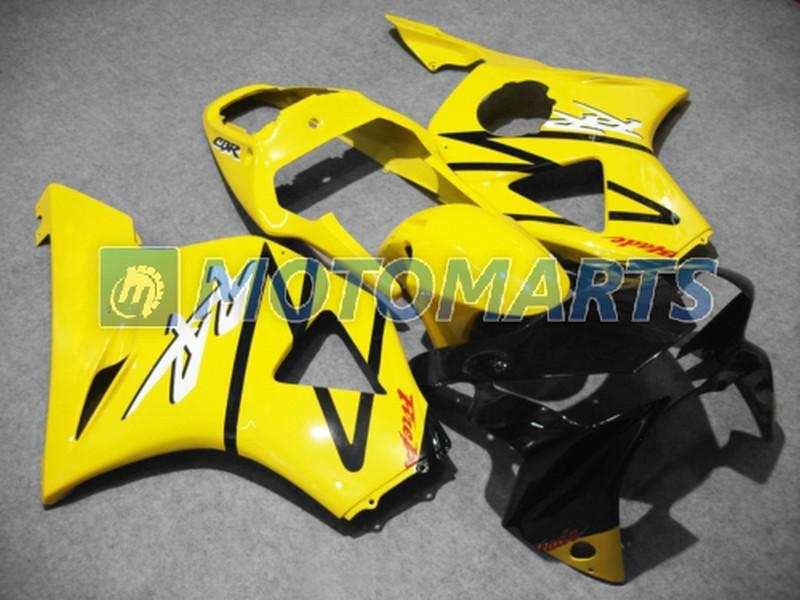 Moda corpo amarelo Para Honda CBR900RR 954 2002 2003 CBR 954RR CBR954 RR CBR900 CBR954RR carenagem kit