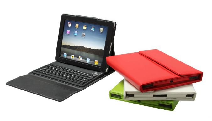 Christmas party favours favor gift 9.7inch Wireless Bluetooth Leather Case Cover with Keyboard for iPad2 iPad3 Tablet Clearance big discount