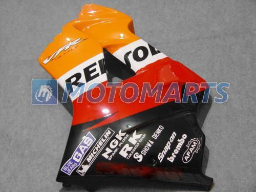 Kit de carenado de Repsol para HONDA 1998 - 2001 VFR800RR Interceptor VFR800 VFR 800 98 99 00 01 Parabrisas